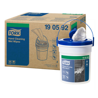 Tork Hand Cleaning Wipes W14 ( 4 emmers )